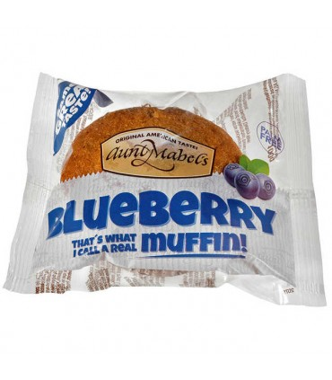 Blueberry Muffins 100g Aunt Mabels