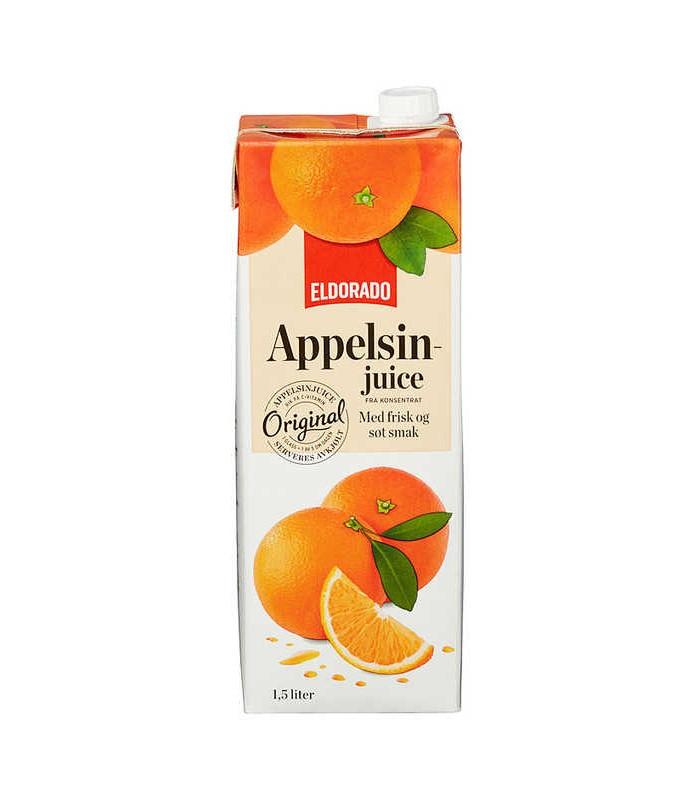 Appelsinjuice 1,5l Eldorado