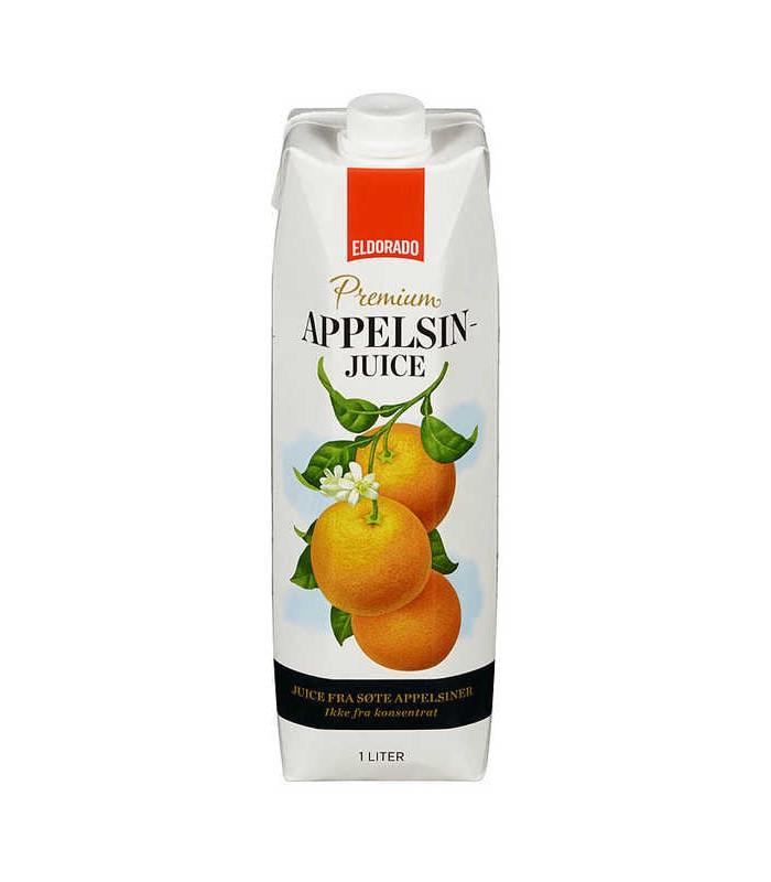 Appelsinjuice Premium 1l Eldorado