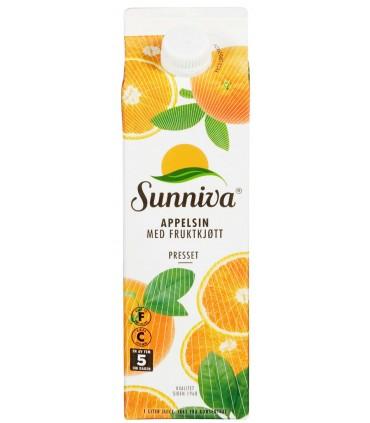 Appelsinjuice Premium 1l Sunniva