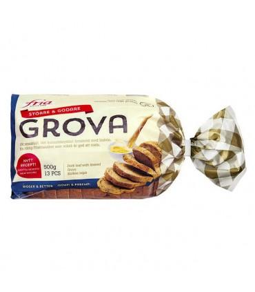 Grovbrød glutenfri 500g Fria
