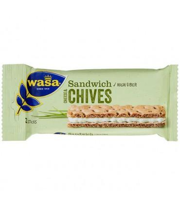 Sandwich Cheese Gressløk 37g Wasa