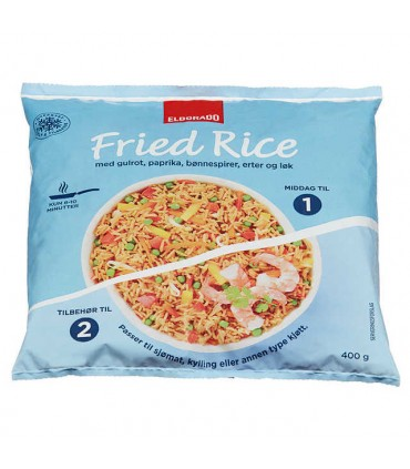Fried Rice Ferdigrett 400g Eldorado