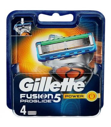 Fusion5 Blader Proglide Power 4stk Gillette