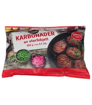 Karbonader Av Storfekjøtt 600g Folkets