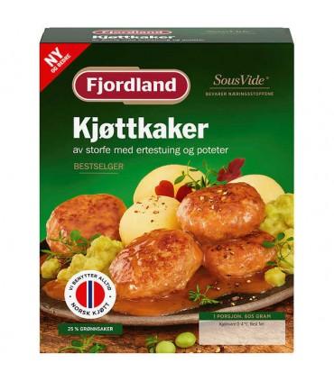 Kjøttkaker m/Ertestuing 605g Fjordland