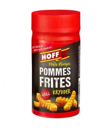 Pommes Frites Krydder 130g boks Hoff